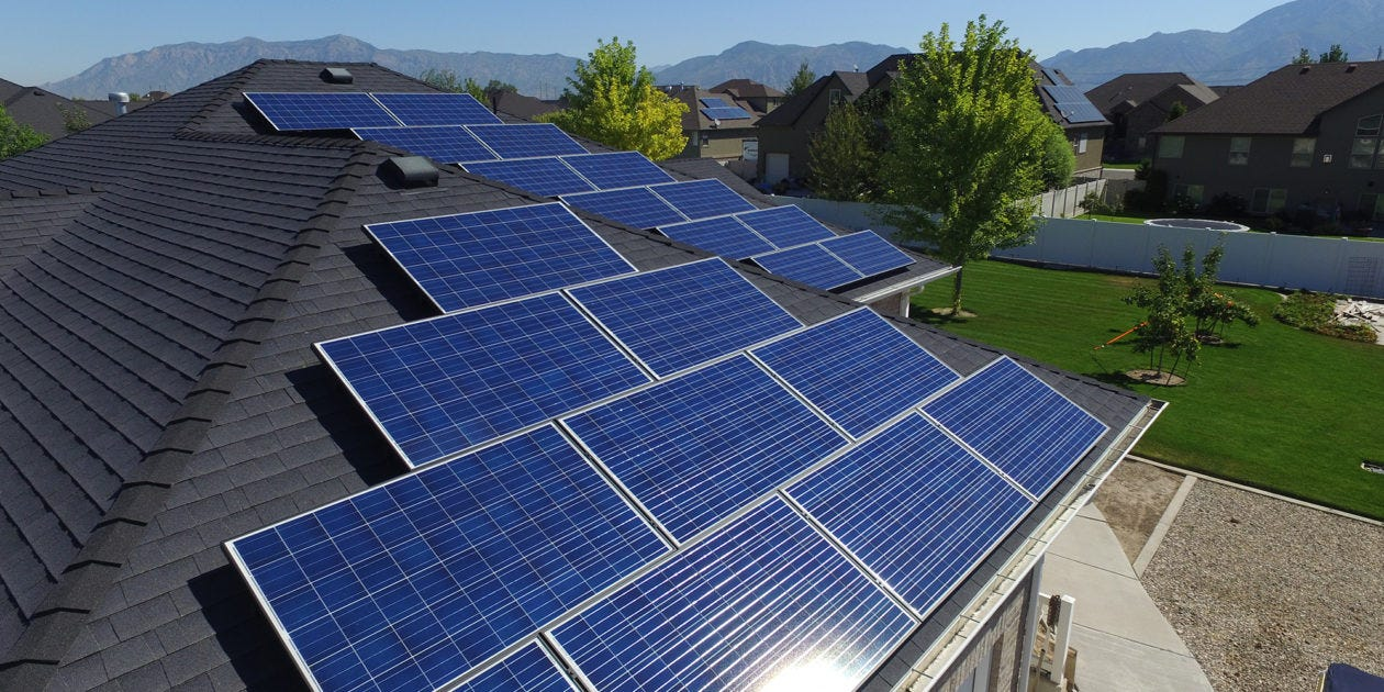 Residential Solar Energy System Key Components ...