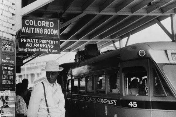 How planes, trains and automobiles worsened America's racial divide.