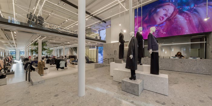 EPR Retail News | SPAIN: Zara opens flagship store on calle Compostela 3,  one of A Coruña's prime shopping streets