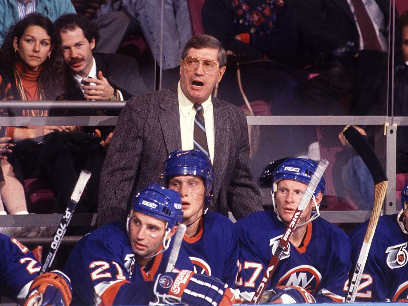 Al Arbour, Coach of Islanders' 1980s Dynasty, Dies at 82 - The New York  Times