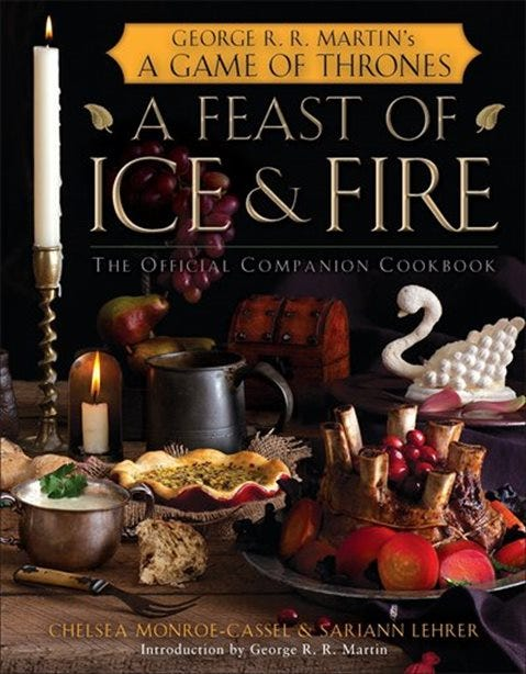 Image result for a song of ice and fire cookbook
