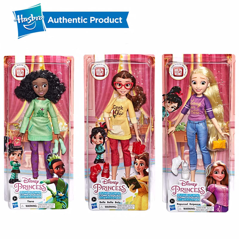 313967548 Hasbro Disney Princess Belle Rapunzel Tiana Comfy Squad Ralph Birthday Wreck It Ralph Ralph Breaks The Internet Dolls Toys Hobbies Dolls Accessories