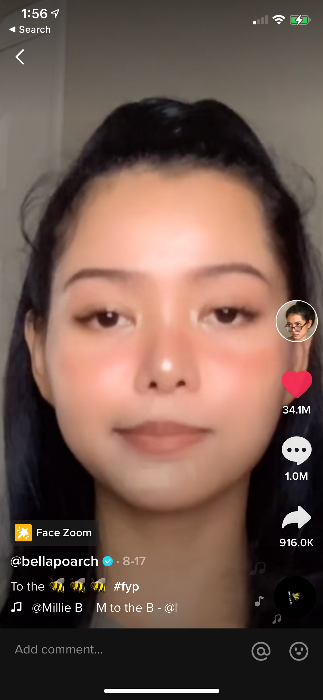 "This  is, as of right now, the most popular TikTok ever. By the time I publish this post, its 34.1M likes will likely be outdated. You can read  the story of how this TikTok even came to be  and it will still feel like a cultural conundrum wrapped in a riddle stuffed in a paradox, and you love to see it. I showed this to my niece, we looped it a few dozen times, then we started chanting ""M to the B, M to the B"" and laughing our asses off and it was one of the only times in this pandemic I've truly felt anything other than despair."