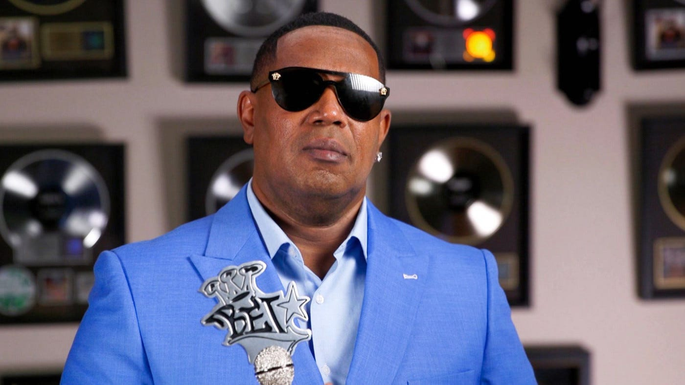 Master P accepts the I Am Hip Hop award