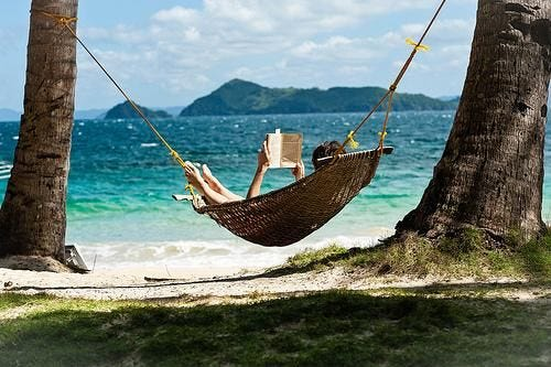 12 Benefits Reading Books Can Have On Your Life   Outdoor, Hammock, Beach  reading