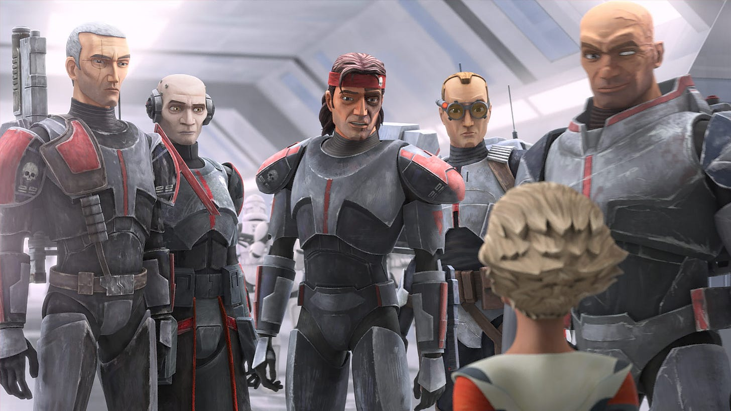 Star Wars: The Bad Batch, la serie de Disney Plus nos presenta a cada uno  de sus personajes en un adelanto - Cultura Geek