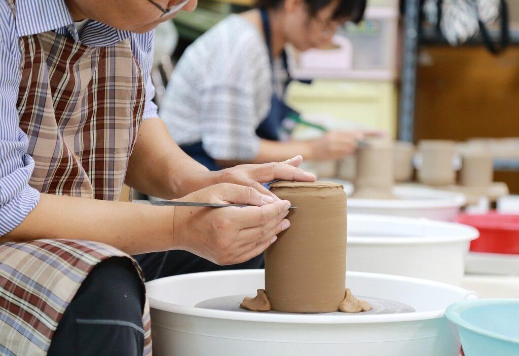 craft, pottery, porcelain