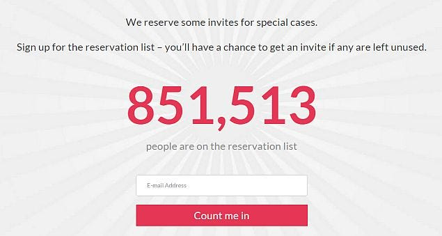 Image result for oneplus waitlist