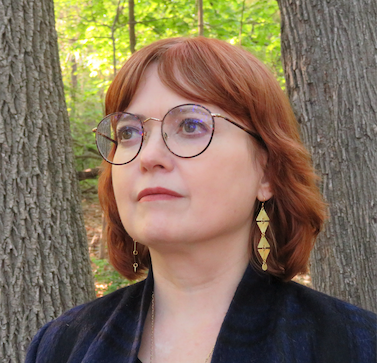 Maud Newton on Lenape land in Queens, NY (c) 2021 Maximus Clarke