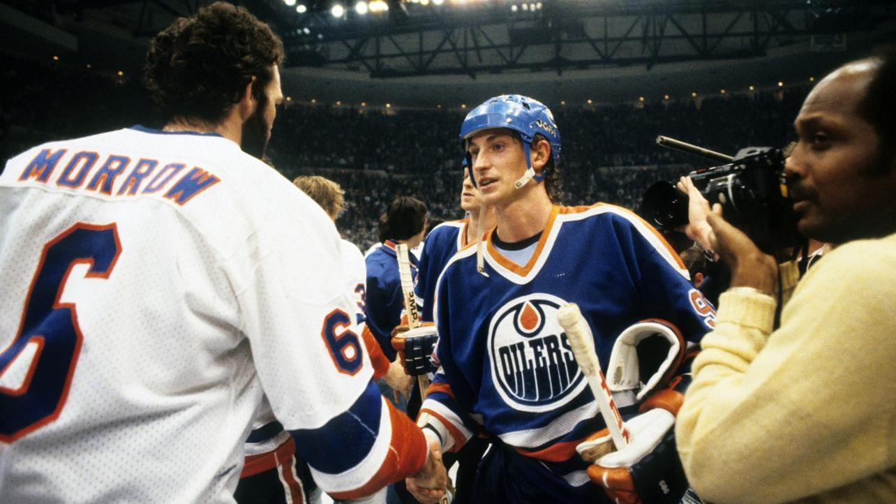 1983-84 Oilers voted No. 9 Greatest NHL Team
