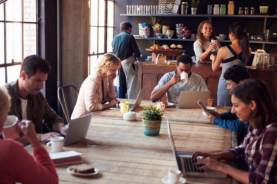 Coffee Shop Conundrum: Cut the Wi-Fi, or Cater to Remote Workers? - 1  Million for Work Flexibility