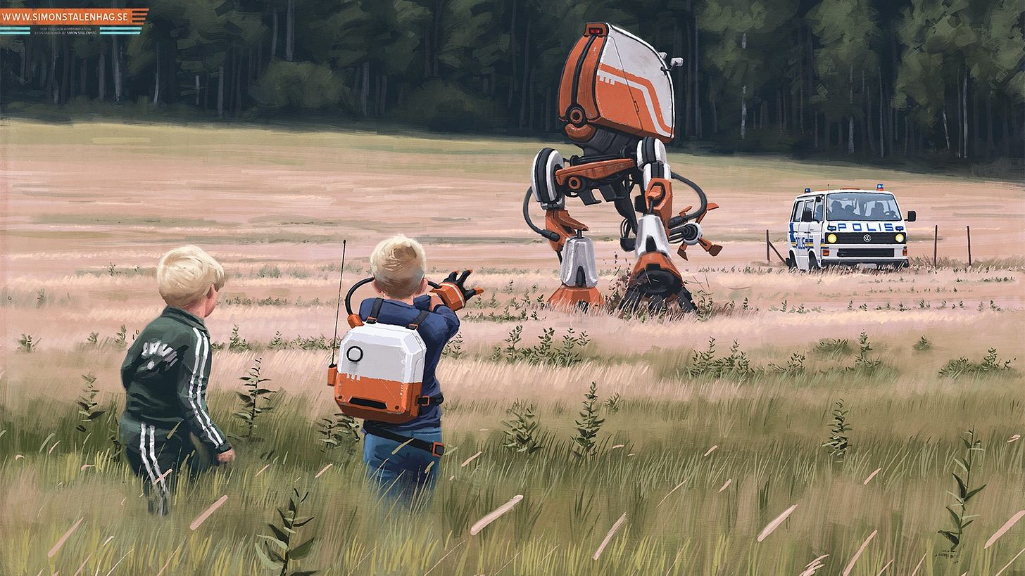 Simon Stålenhag's Tales from the Loop by Free League Publishing ...