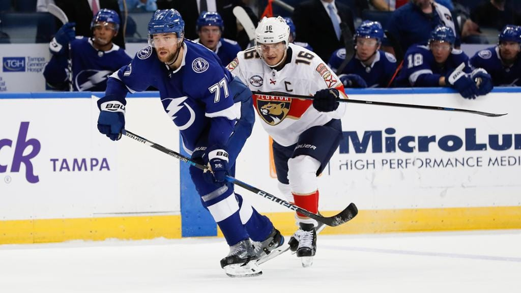 Nuts and Bolts: Lightning vs. Panthers on Opening Night