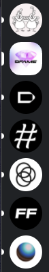 Image showing many unread servers in the Discord chat app