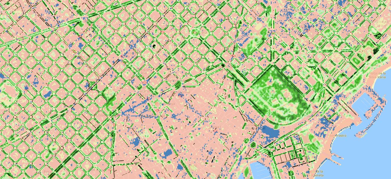Árboles y zonas verdes como indicadores de equidad social