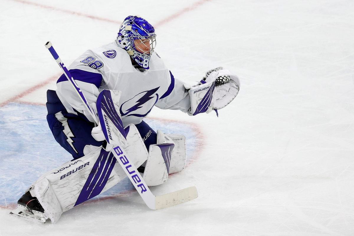 Lightning Round: Is Andrei Vasilevskiy an early Vezina Trophy favourite? -  Raw Charge