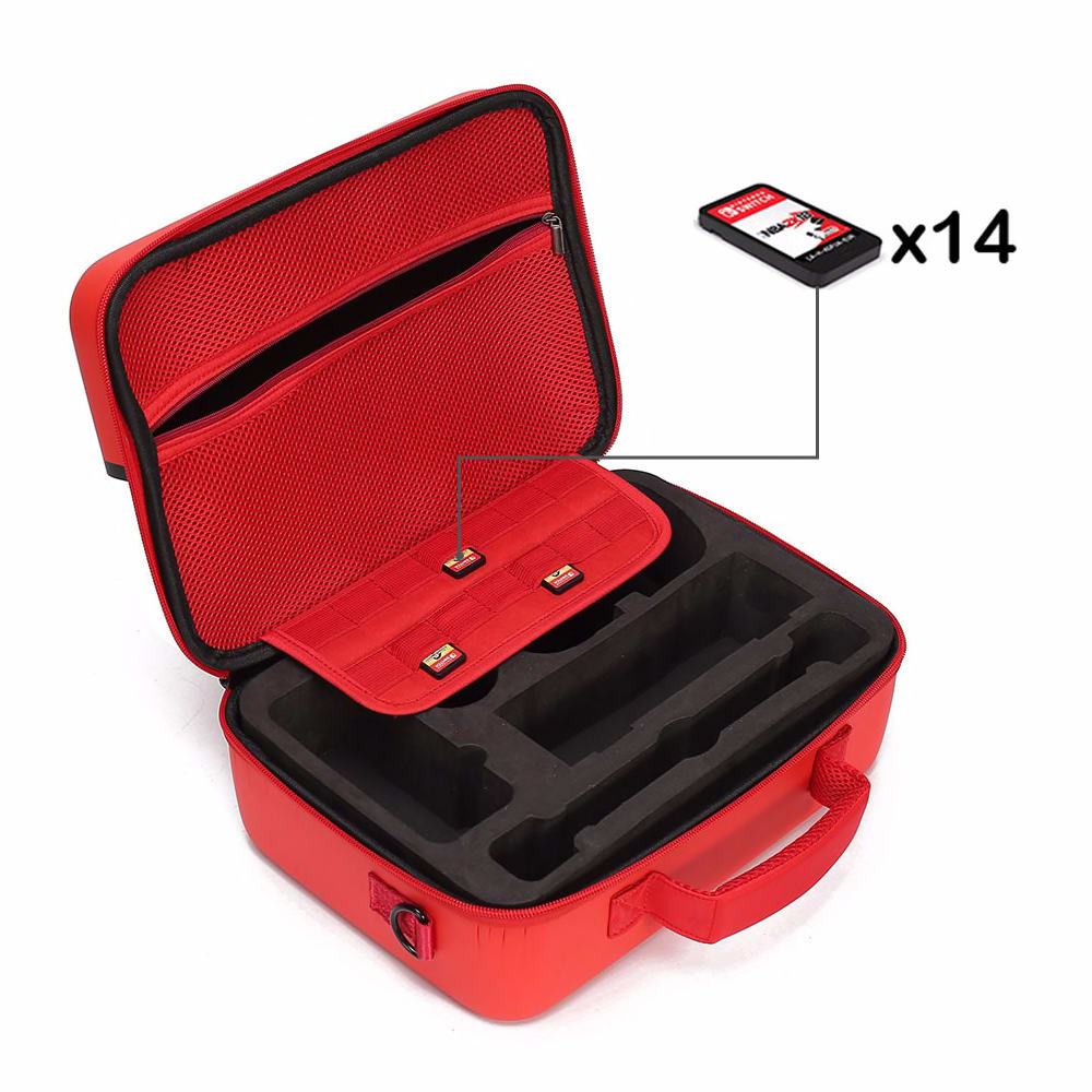 Portable Hard Shell Protective Storage Carrying Bag Case Big Capacity Case Cover Zipper Protective Shell For Nintend Switch