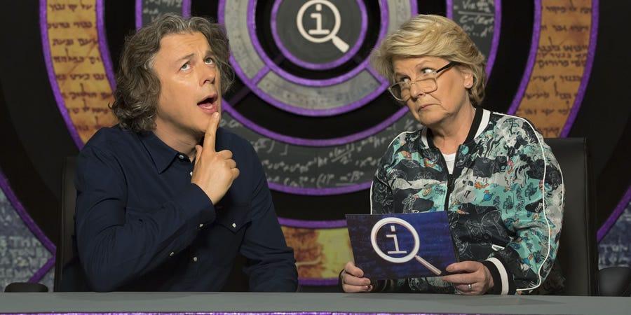 QI - BBC2 Panel Show - British Comedy Guide
