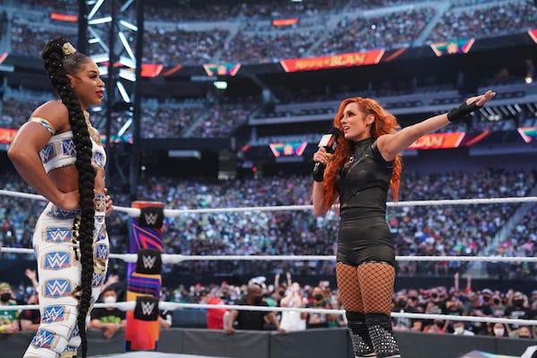 Becky Lynch challenges Bianca Belair at SummerSlam 2021