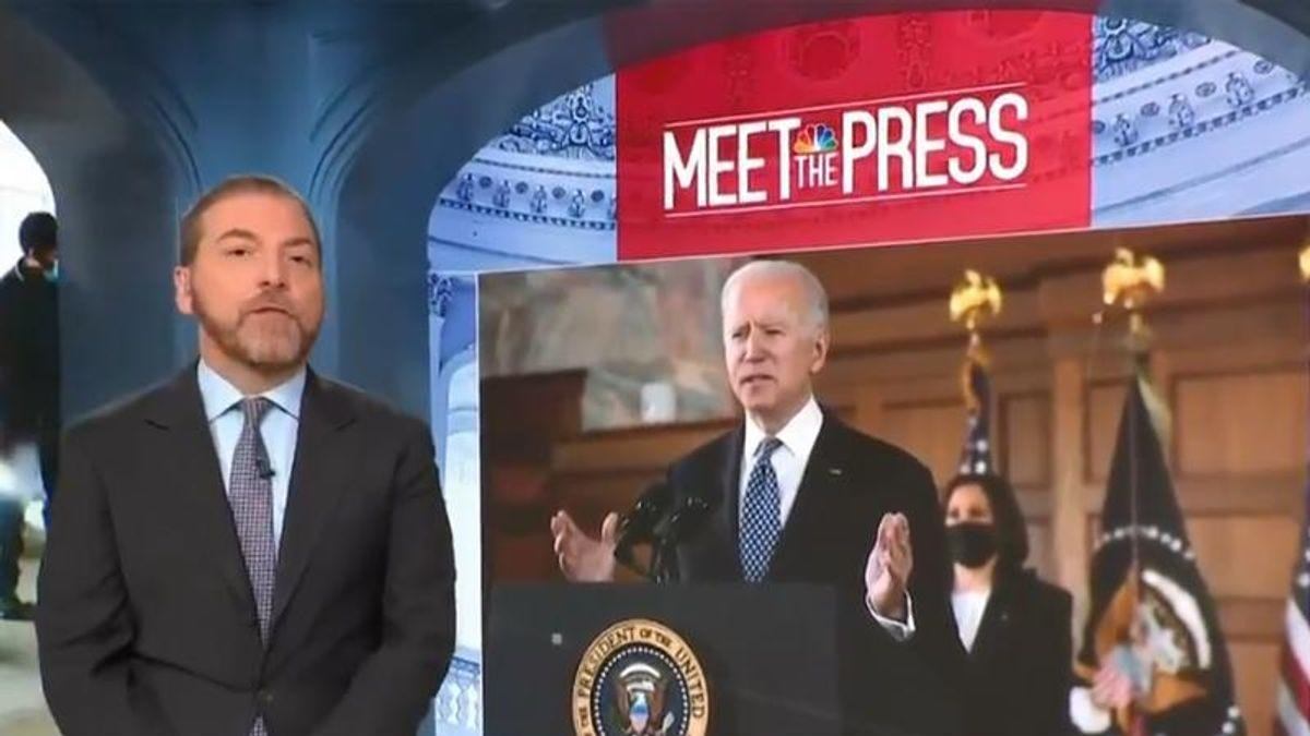Truly disgusting' Chuck Todd facing furious backlash over Joe Biden  comments - Raw Story - Celebrating 16 Years of Independent Journalism