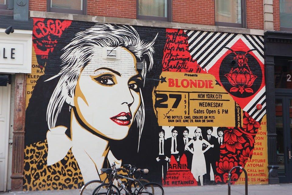 Blondie, Debbie Harry, Obey, Mural, Shepard Fairey