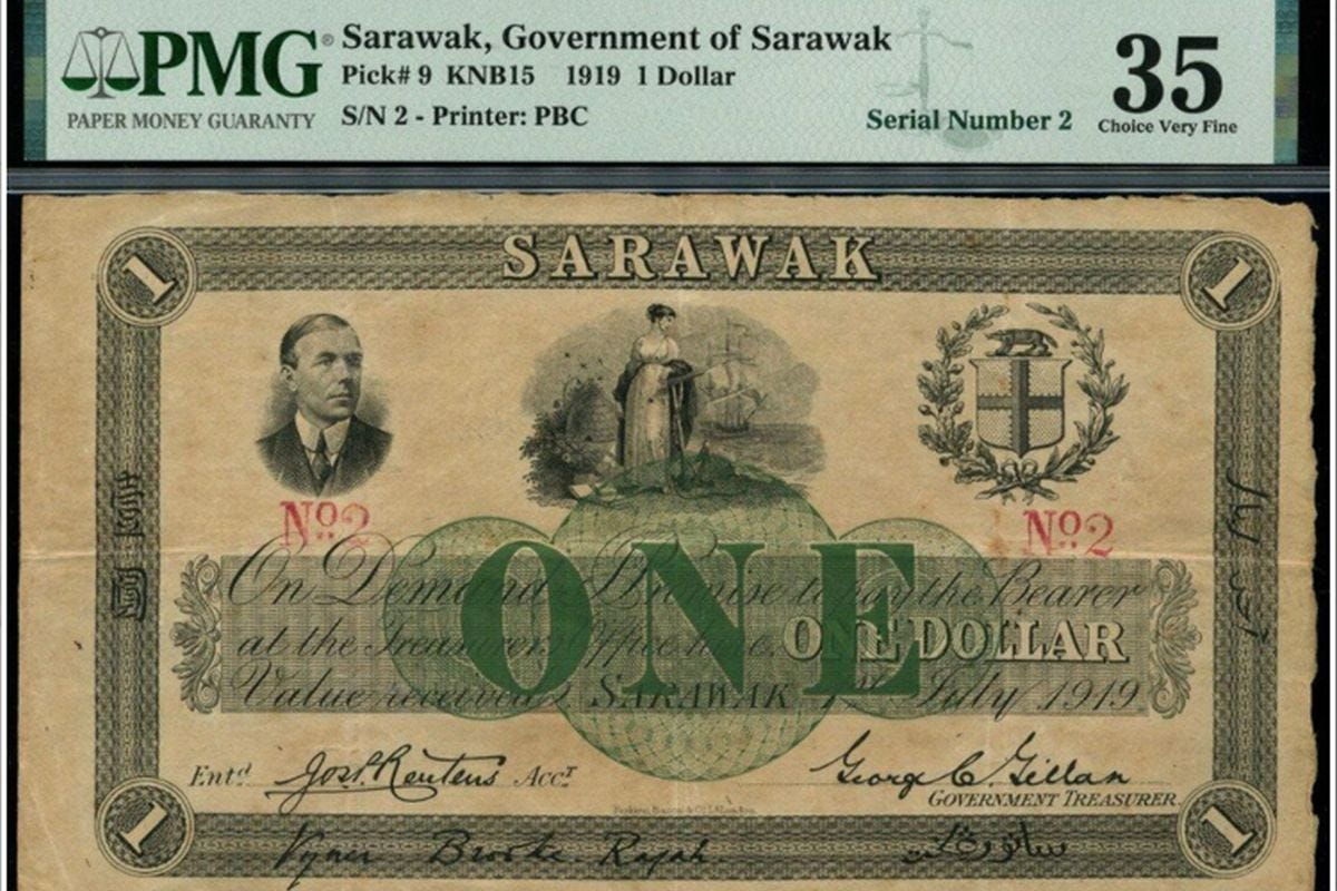Malaysian collector brings home century-old rare Sarawak dollar