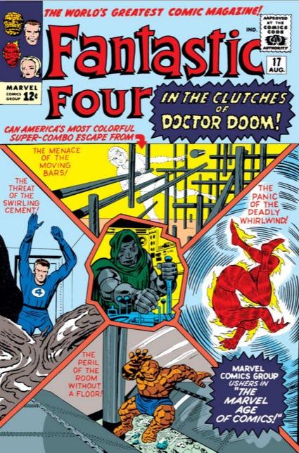 Fantastic Four Vol 1 17   Marvel Database   Fandom