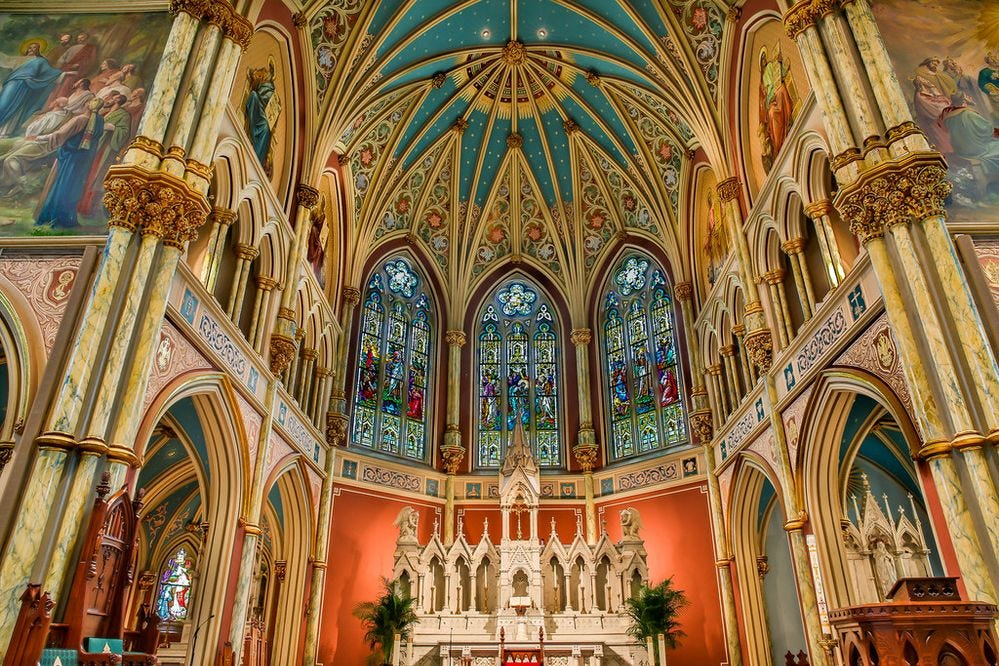 Image result for john the baptist cathedral savannah