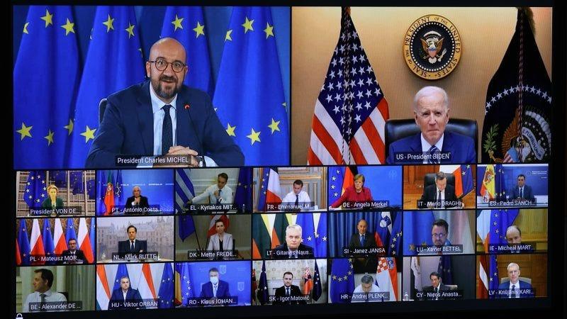 """Biden dice: """"Prima gli americani"""", e gli stolidi europei applaudono    Contropiano"""