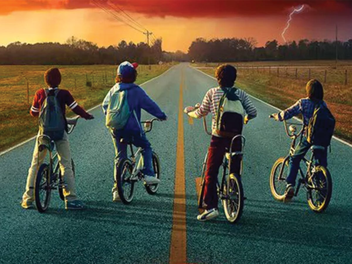 """VIDEO] Think the Bikes from Netflix's """"Stranger Things"""" are Cool? Now You  Can Have One Too! -"""