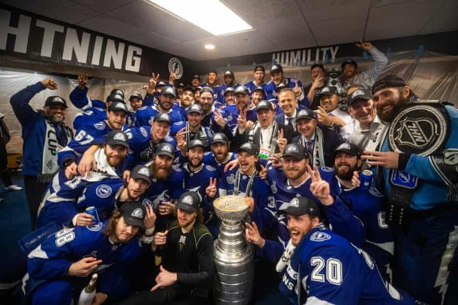 Lightning strikes twice: Tampa Bay mint NHL dynasty with Stanley Cup repeat  | Stanley Cup | The Guardian