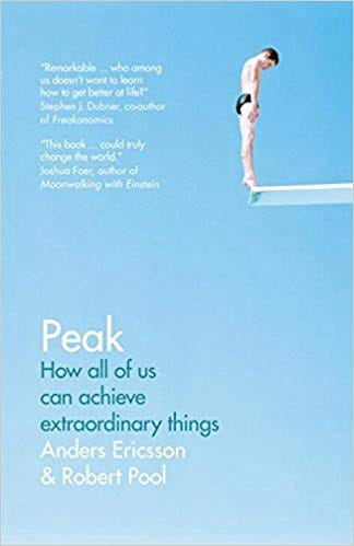image of the front cover of the book Peak by Anders Ericsson