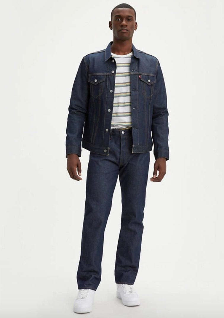 levi's original shrink to fit jeans
