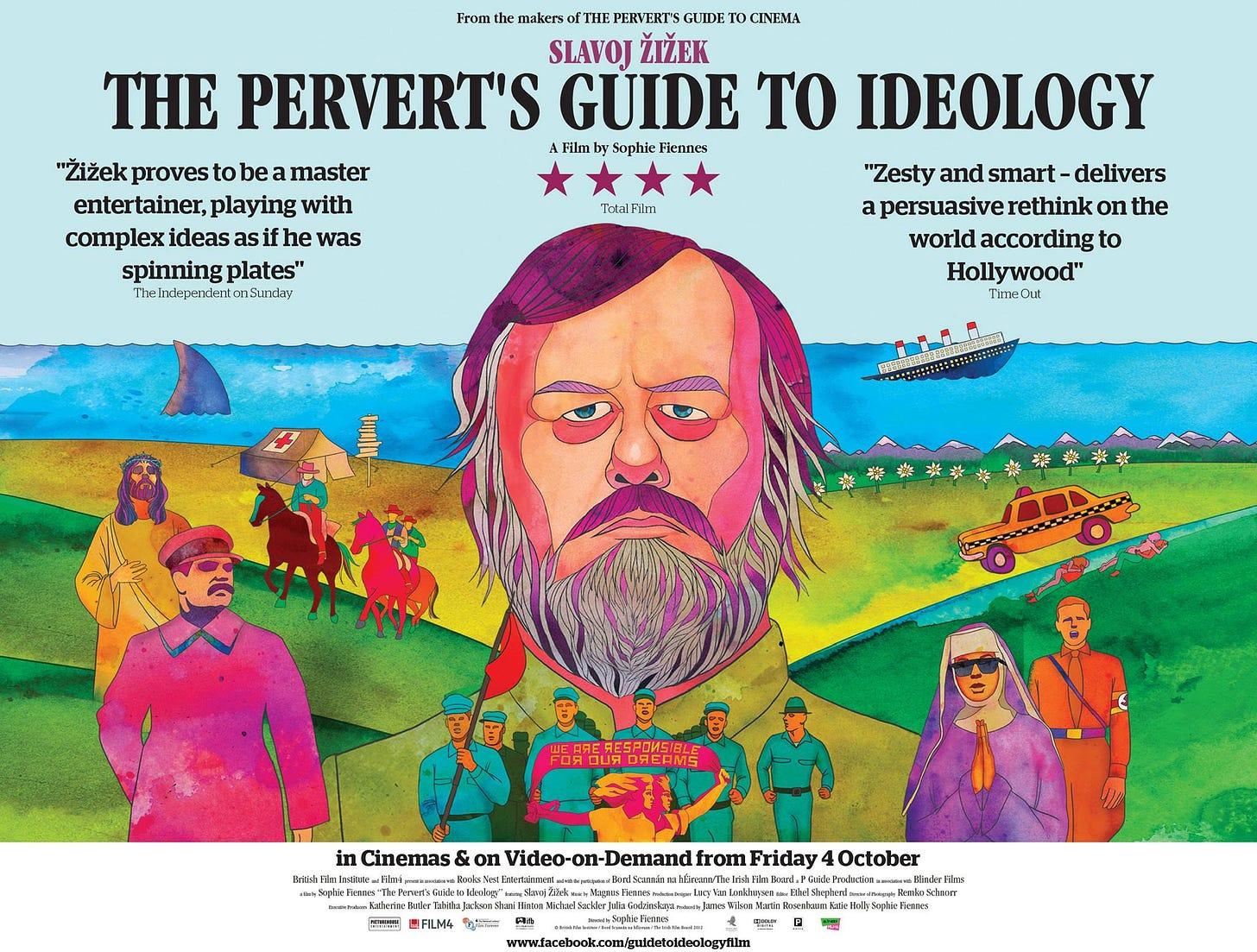 The Pervert's Guide to Ideology (transcript/subtitles) – Žižek.uk