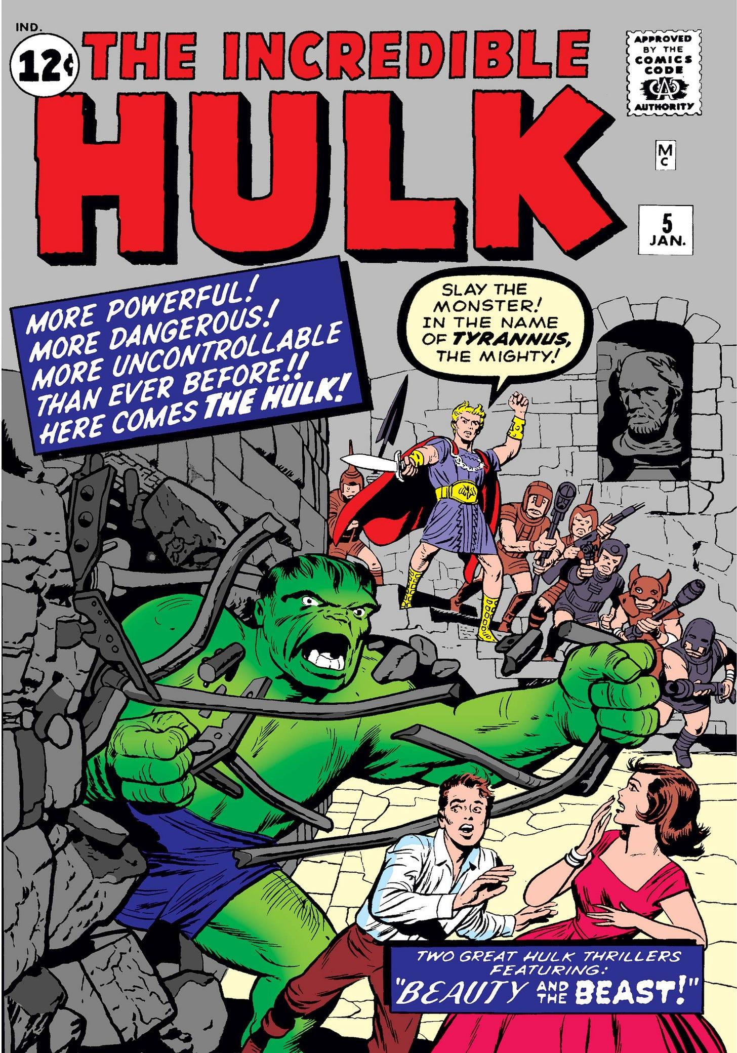 Incredible Hulk (1962) #5   Comic Issues   Marvel