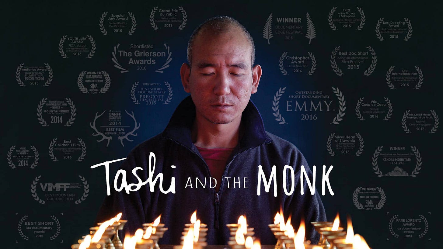 TASHI AND THE MONK on Vimeo