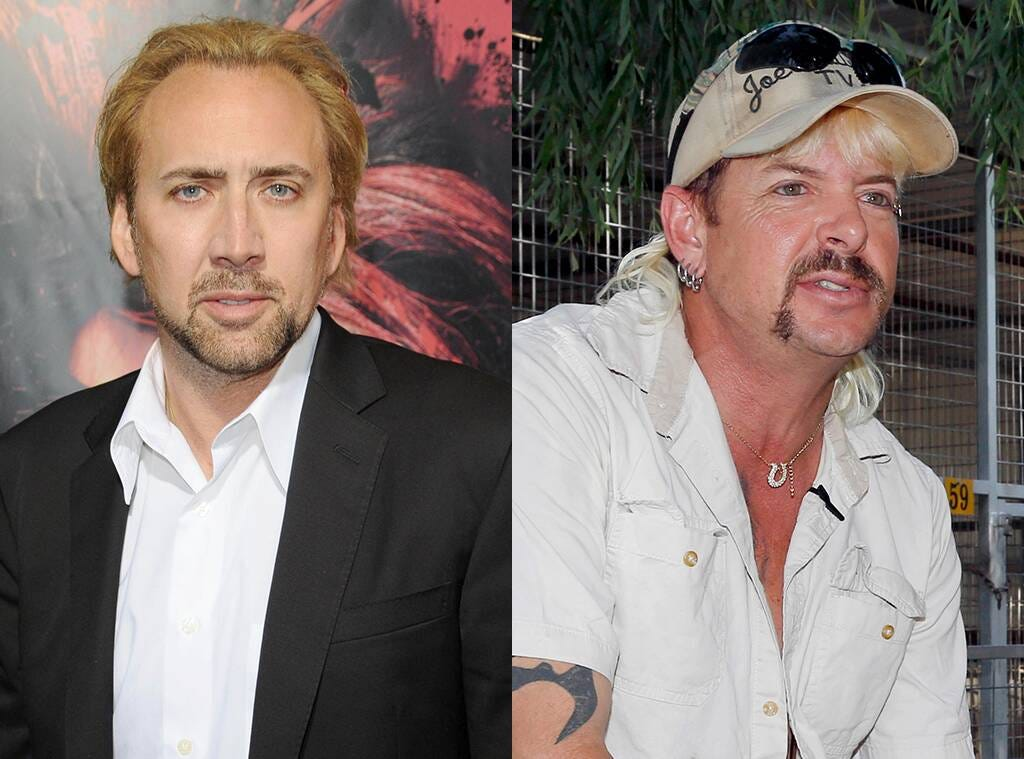 Yep, Nicolas Cage Is Playing Joe Exotic in a New TV Show | E! News