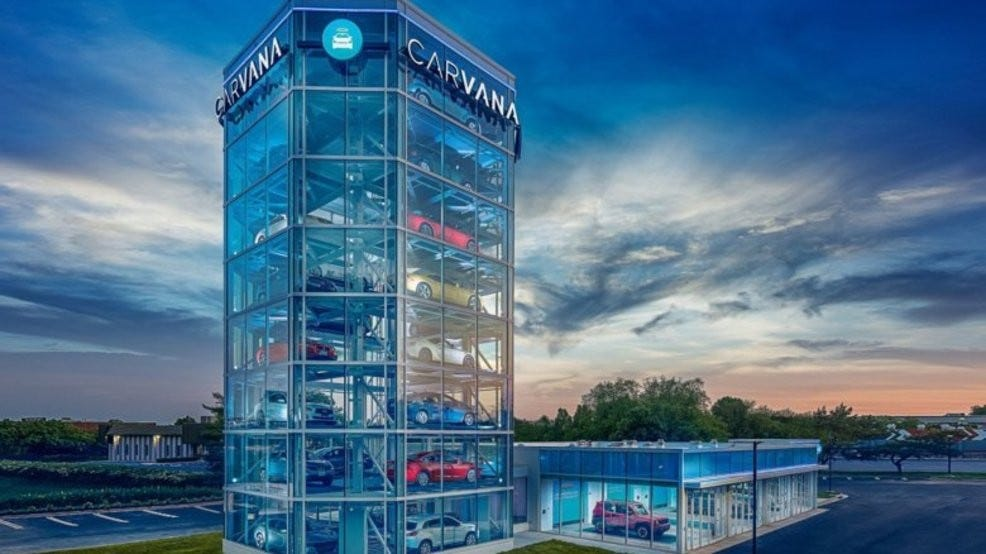 Gigantic 'vending machine' for cars opens in Maryland   WJLA