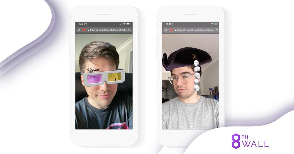 AR Face Effects are popular social media augmented reality tools and apps