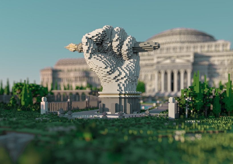 virtual minecraft library combats government censorship by housing banned journalism