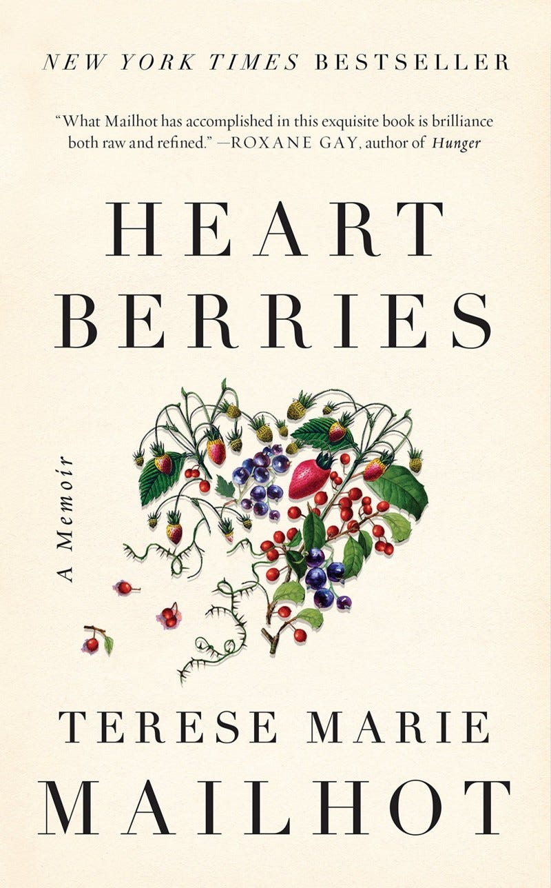 Cover of Heart Berries by Terese Marie Mailhot