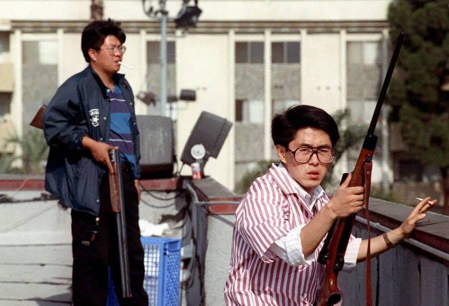 Meet The Real 'Roof Koreans' From The L.A. Riots