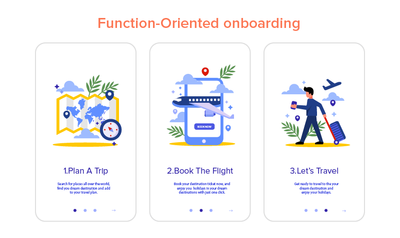 Function-Oriented onboarding