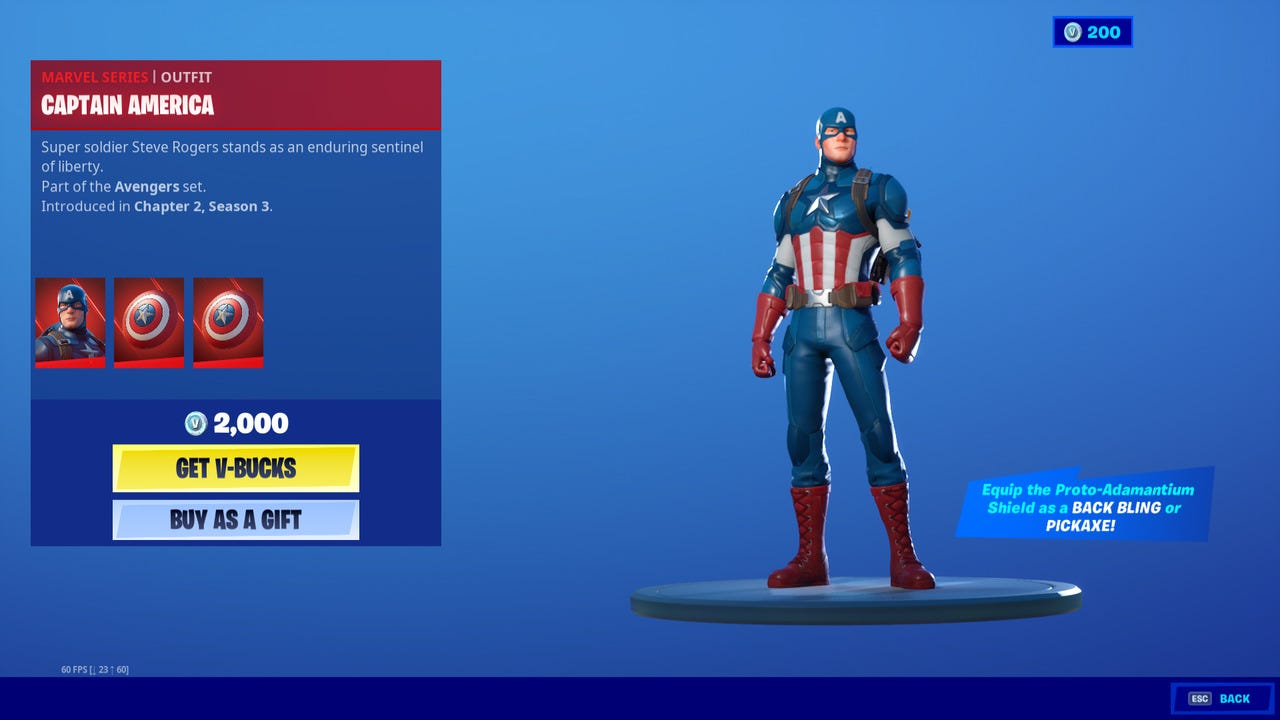 Fortnite - How to Get Captain America Skin and Shield - Attack of the Fanboy