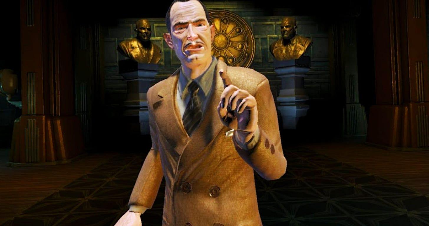 BioShock: The 10 Worst Things Andrew Ryan Has Done   TheGamer