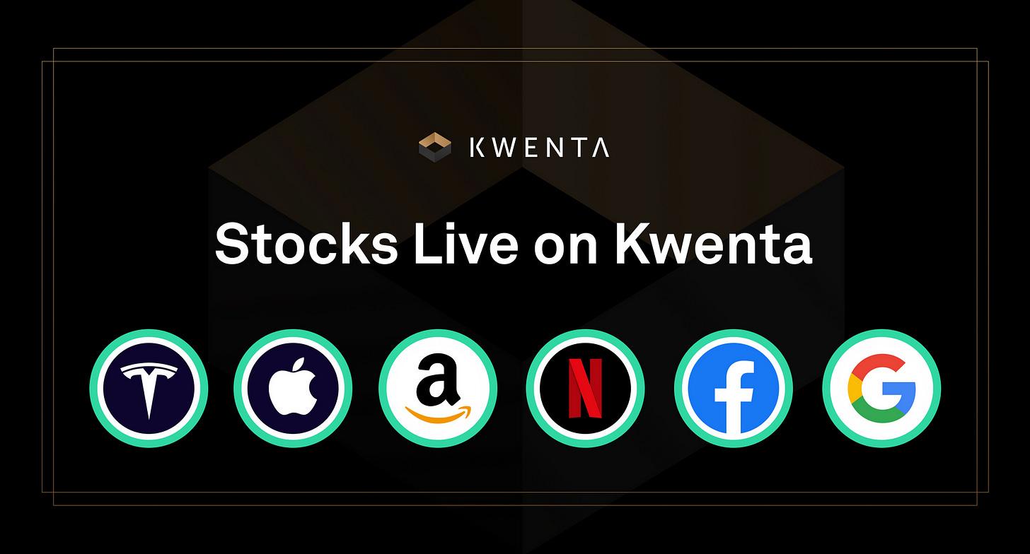 Stocks are now live on Kwenta