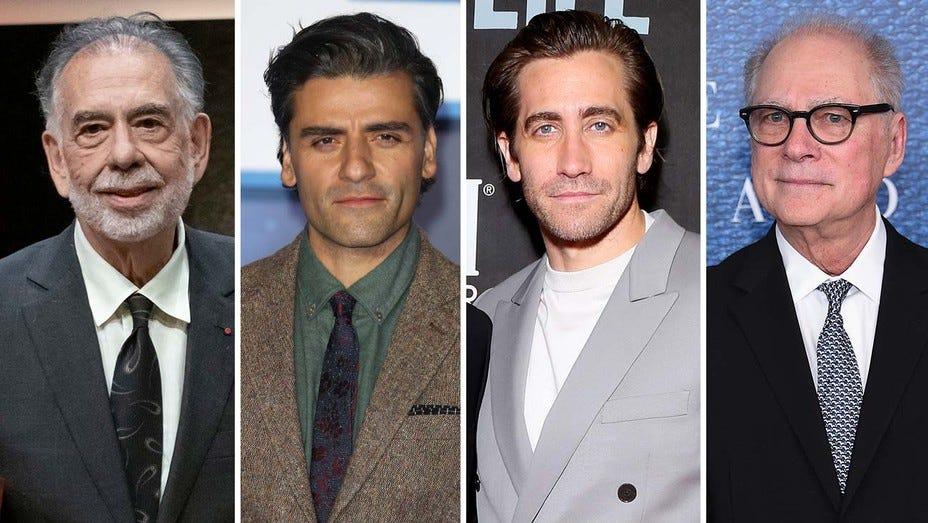 Francis Ford Coppola, Oscar Isaac, Jake Gylenhall and Barry Levinson
