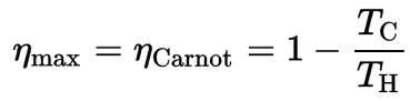 Carnot Efficiency Formula
