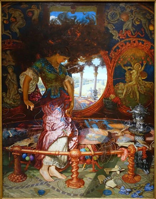 William Holman Hunt, The Lady of Shalott (article) | Khan Academy