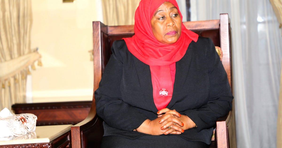 Mama Samia presides over Tanzania - Teller Report